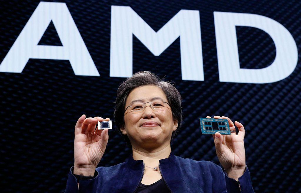 AMD走向C位