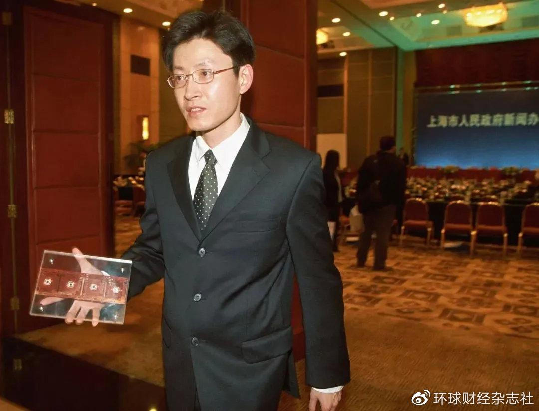 """上海交通大学微电子学院原院长陈进和他的""""汉芯一号"""""""