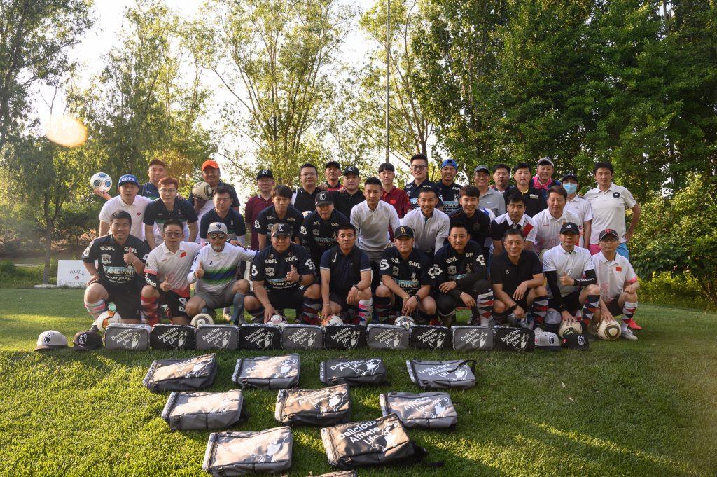 第二届北京足球高尔夫超级联赛第一站比赛顺利结束