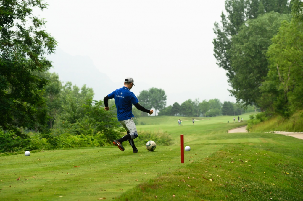 北京足球高尔夫超级联赛:第二站(乡村球场)两轮赛事全部结束