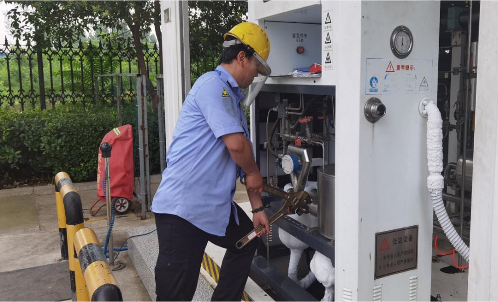 筑牢LNG安全防线,助力安全生产——中国燃气宏大能源贸易有限公司全面开展安全隐患排查工作