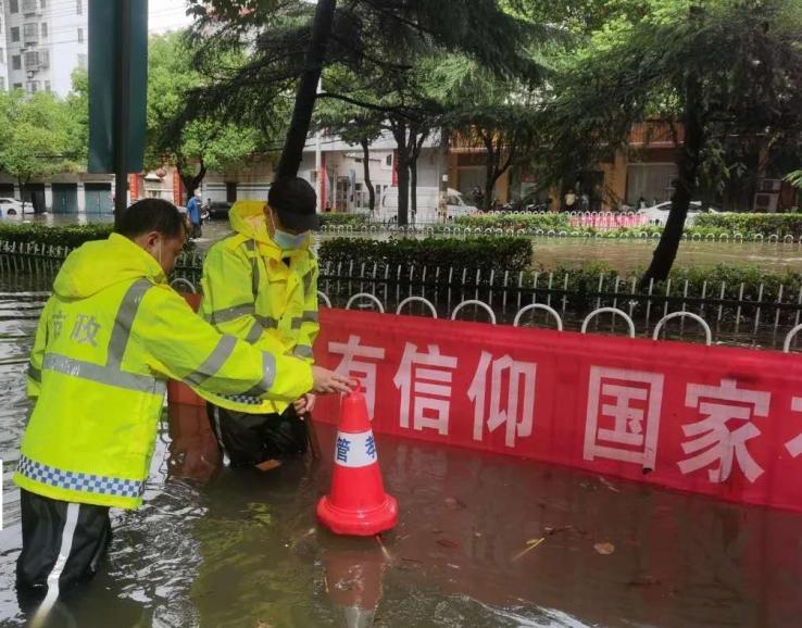 中国燃气孝感站临危不乱,坚守抗涝保供第一线