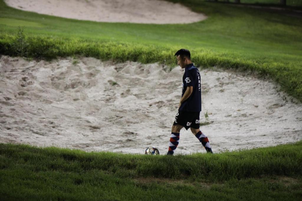 强强联合 激情共享:北京足球高尔夫超级联赛第四站