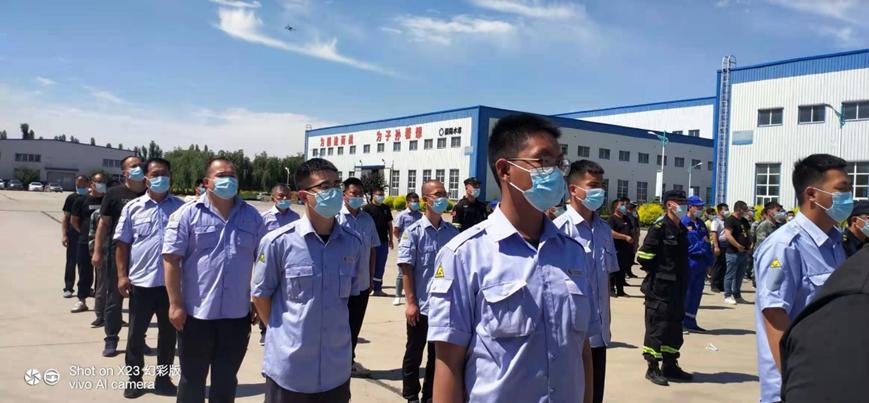 中国燃气保定经管集团:一户户排查 一家家宣传 守卫燃气安全使命在肩